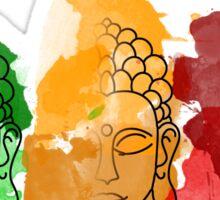 Buddha Water Colour Splatter Sticker