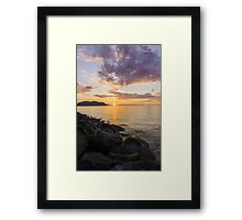 Great Orme Sunset Framed Print