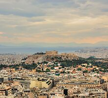 Overlooking Athens by Vicki Spindler (VHS Photography)