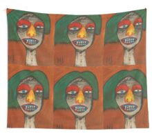 Crazy eyes Wall Tapestry