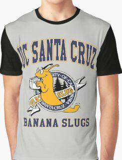 Santa Cruz Banana Slug Fiction Graphic T-Shirt