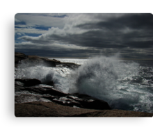 Peggy's Cove Splash II Canvas Print