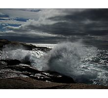 Peggy's Cove Splash II Photographic Print