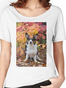Yogi in Fall Colors Women's Relaxed Fit T-Shirt