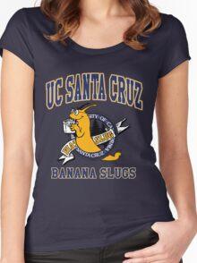 Santa Cruz Banana Slug Fiction Women's Fitted Scoop T-Shirt