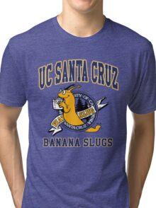 Santa Cruz Banana Slug Fiction Tri-blend T-Shirt