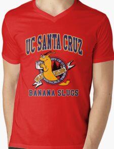 Santa Cruz Banana Slug Fiction Mens V-Neck T-Shirt