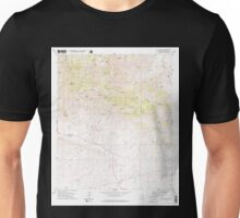 USGS TOPO Map Arizona AZ Dos Cabezas 311163 1978 24000 Unisex T-Shirt