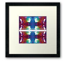 Newer Batik Framed Print
