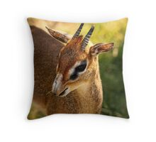 Kirk's Dik Dik Throw Pillow