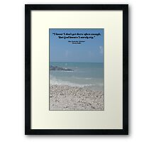 One Particular Harbor Framed Print