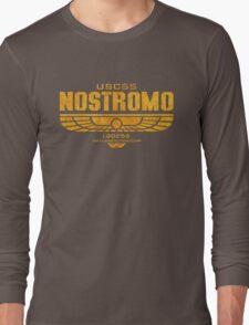 Alien Nostromo logo Long Sleeve T-Shirt