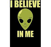Funny Alien T Shirt Photographic Print