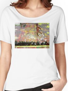 Jordan Firewoks Version - www.art-customized.com Women's Relaxed Fit T-Shirt