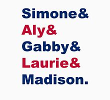 USA Gymnastics Team Names Unisex T-Shirt