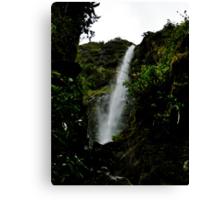 El Chorros Waterfalls of Giron V Canvas Print