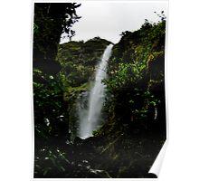 El Chorros Waterfalls of Giron V Poster