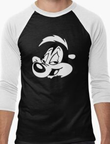 Pepe Le Pew Men's Baseball ¾ T-Shirt