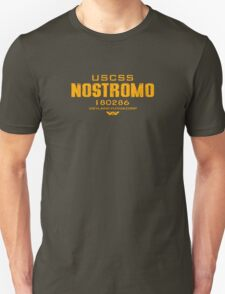 Alien Nostromo crest Unisex T-Shirt