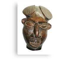 Old West African Wooden Mask Canvas Print