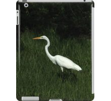 Great Egret Among Reeds iPad Case/Skin