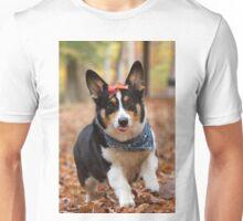 Silly, Funny, Corgi Unisex T-Shirt
