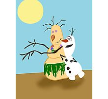 Olaf Summer Photographic Print