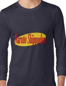 Naruto Shippuden- Seinfeld Font Long Sleeve T-Shirt