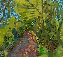 Path Looking Forward by johngrovesart