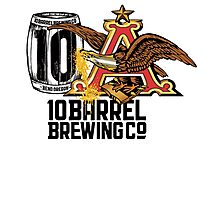 10 BARREL BREWING CO LOGO CMPL Photographic Print