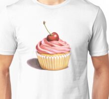 Pink Cupcakes Twirling Unisex T-Shirt