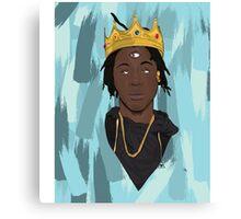 King Bada$$ Canvas Print