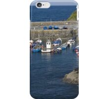 Coverack harbour iPhone Case/Skin