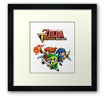 The Legend of Zelda : Tri Force Heroes Series Framed Print
