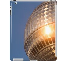 Berlin television tower (Fernsehturm), tv tower iPad Case/Skin