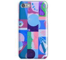 FACE-TO-FACE GEOMETRIC iPhone Case/Skin