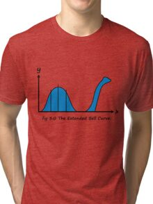 Bell Curve Tri-blend T-Shirt