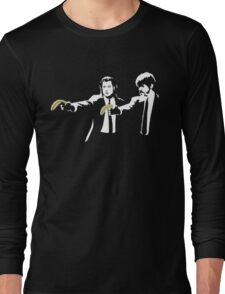 Banksy Pulp Fiction Long Sleeve T-Shirt