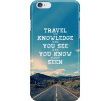 Retro Travel Quote iPhone Case/Skin