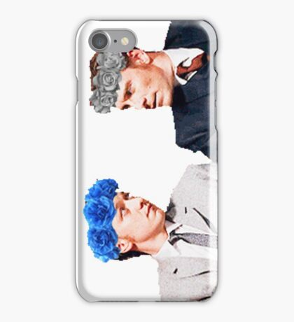 Charles and Erik flower crown edit iPhone Case/Skin
