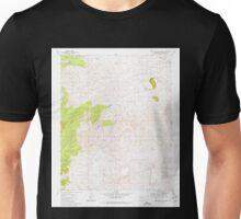 USGS TOPO Map Arizona AZ Rose Well Camp West 313137 1980 24000 Unisex T-Shirt