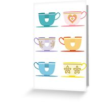 Disneyland Tea Cups Greeting Card