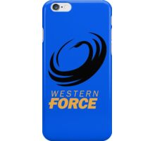 Western Force iPhone Case/Skin
