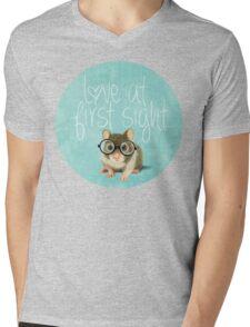 Love at first sight Mens V-Neck T-Shirt