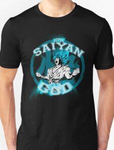 GOKU SUPER SAIYAN GOD V1 Unisex T-Shirt