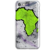 Universal Africa in SPACE iPhone Case/Skin