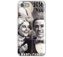 Performing Arts Posters Joseph Hart Vaudeville Co direct from Weber Fields Music Hall New York City 1728 iPhone Case/Skin