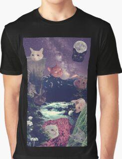 cat surprise Graphic T-Shirt