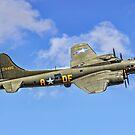 "B-17G Fortress II G-BEDF ""Sally B"" by Colin Smedley"