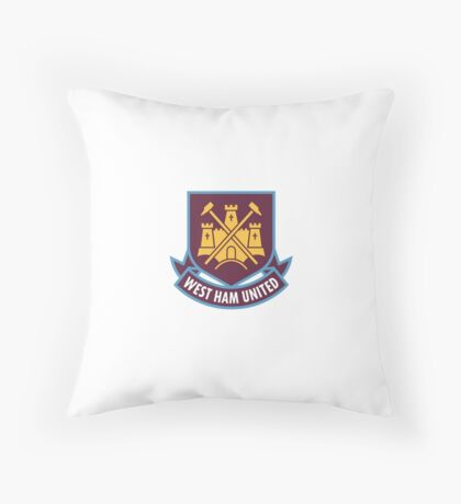 West Ham United Throw Pillow